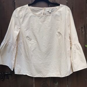 Madewell Bell Sleeve Cotton Top